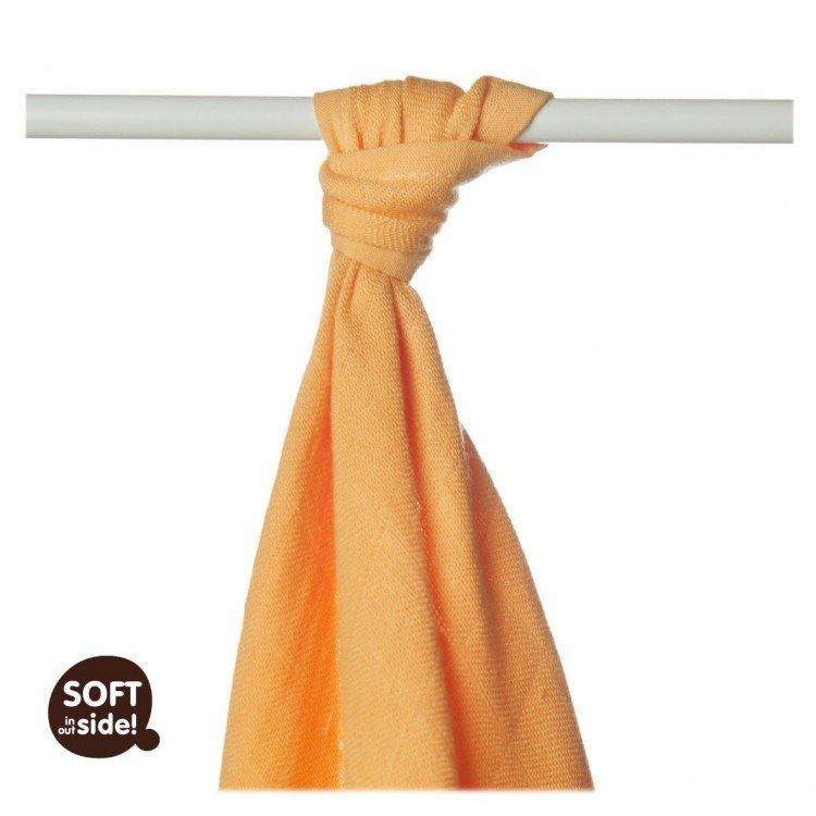 Bambusová osuška 90x100cm oranžová