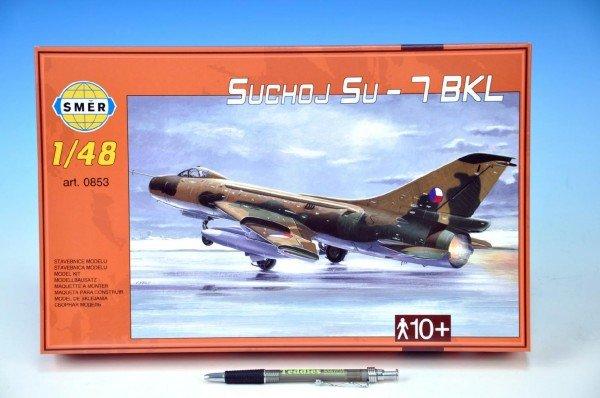 Model Suchoj SU - 7 BKL v krabici 35x22x5cm