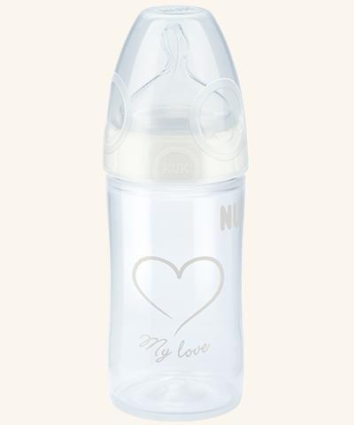 Kojenecká láhev 150ml silikon 0-6m My Love