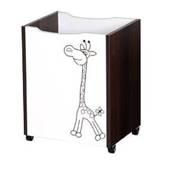 Døevìný box na hraèky Safari žirafa