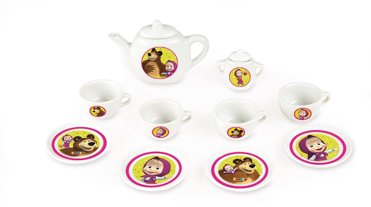 Kávový porcelánový servis Máša a medvìd