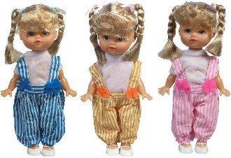 Panenka s copánky v obleèku 3 barvy