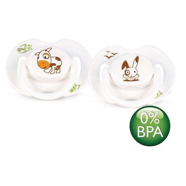 Dudlík silikon bez BPA 0-6m