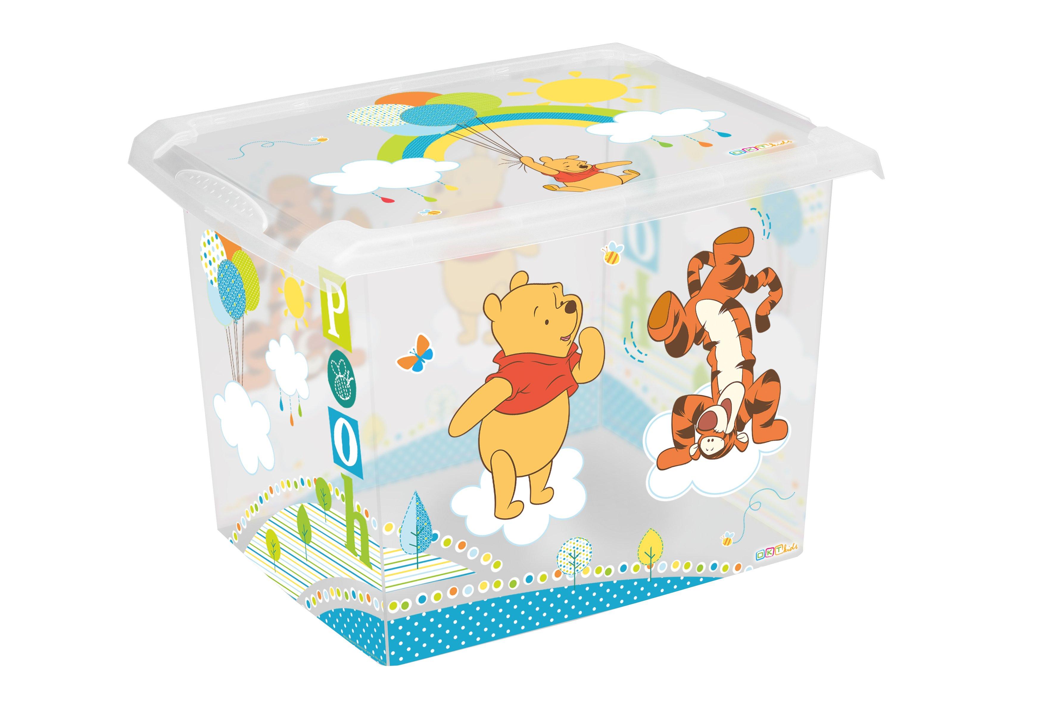 Úložný box na hraèky Fashion-Box Medvídek Pú 20 litrù