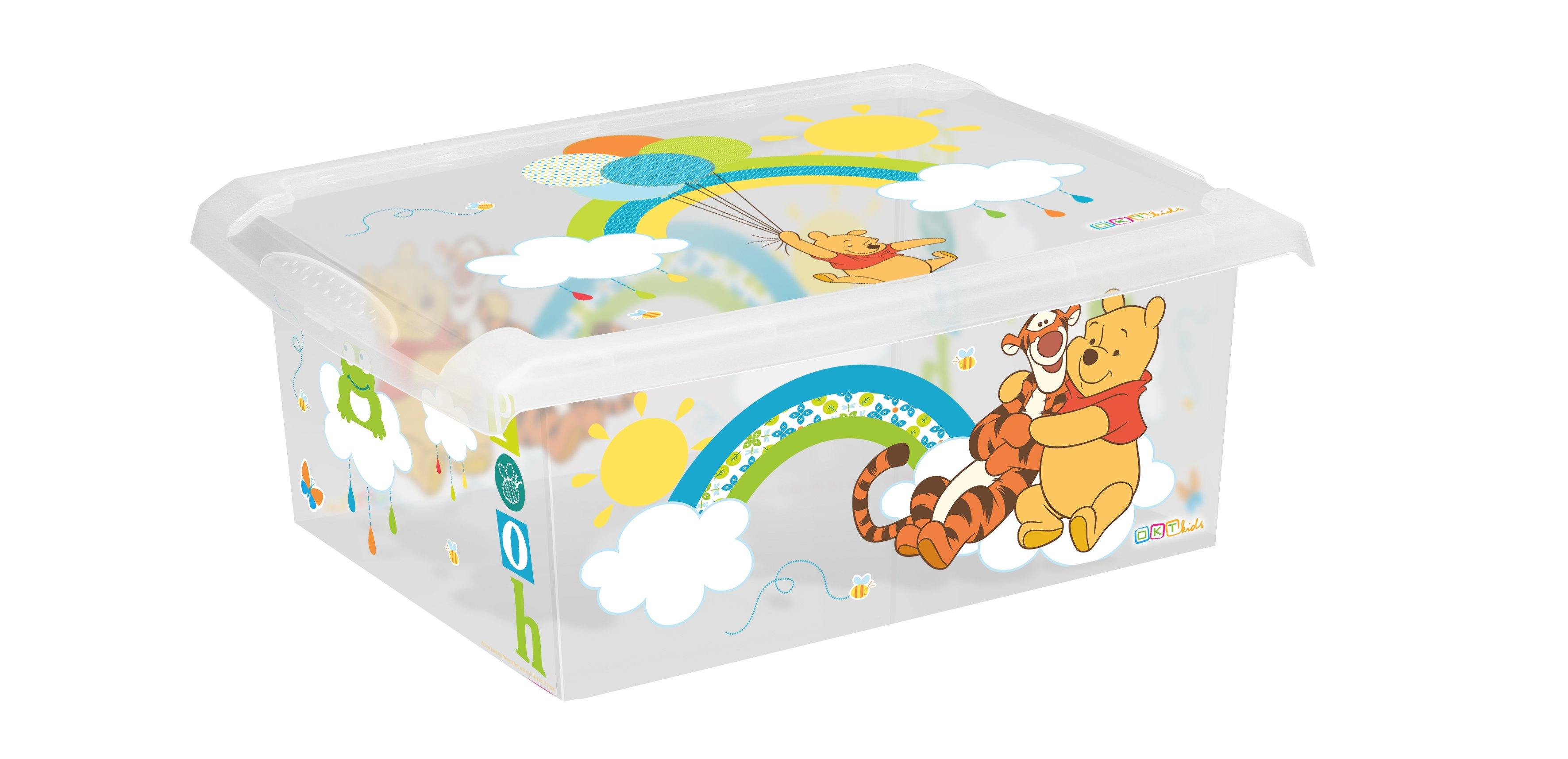 Úložný box na hraèky Fashion-Box Medvídek Pú 10 litrù