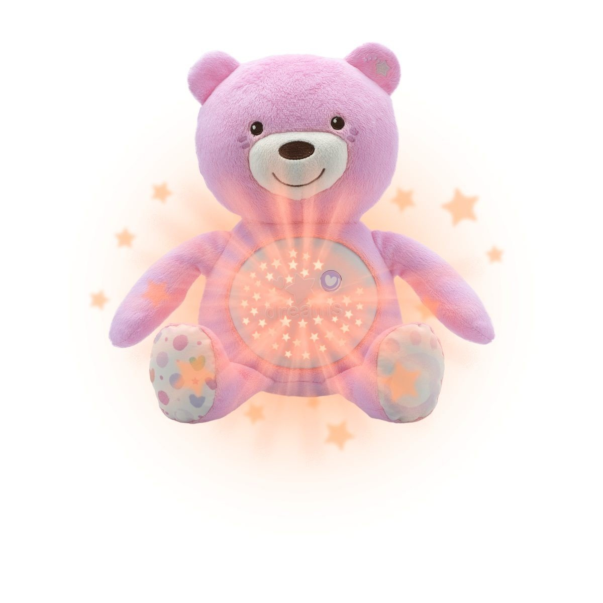Medvídek s projektorem rùžový