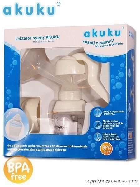 Ruèní odsávaèka mléka Akuku bílá A0297