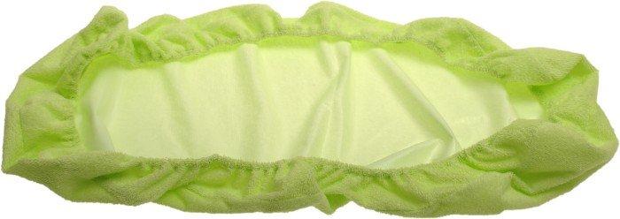 Nepropustné prostìradlo 90x220cm zelené froté bavlna