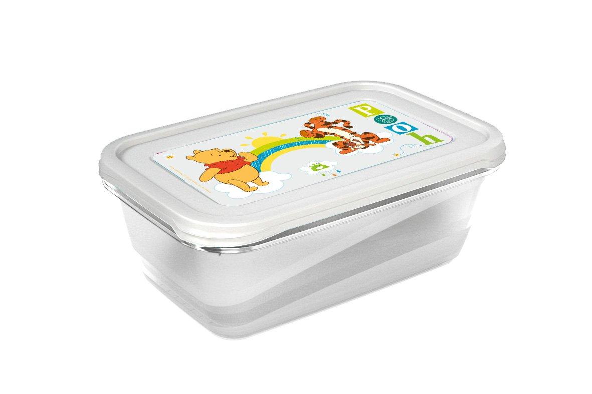 Plastová úložná krabièka Iza Medvídek Pú 3.3 litru 2 ks