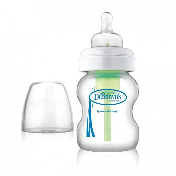 Kojenecká láhev sklenìná Options širokohrdlá 150 ml