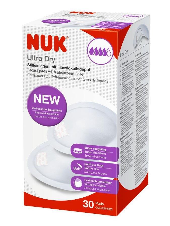 Laktaèní ultrasavé prsní vložky NUK 30 ks