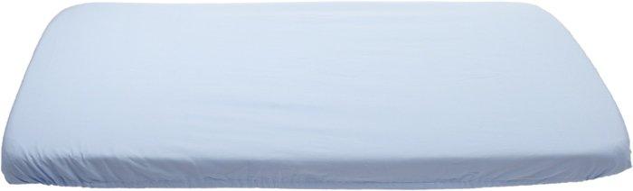Modré prostìradlo bavlnìné plátýnko 60 x 120 cm