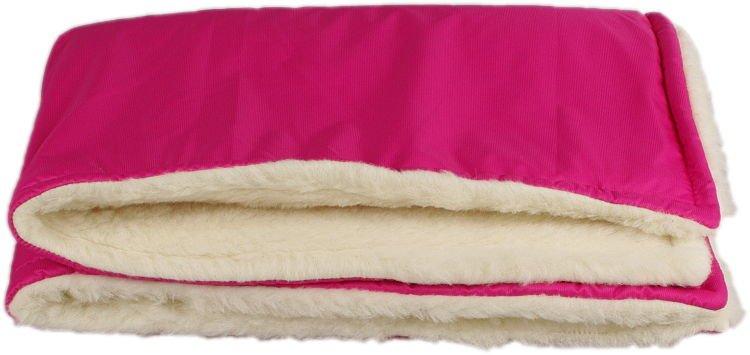 Rùžová zimní deka merino