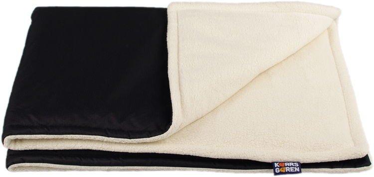 Èerná zimní deka biobavlna beránek