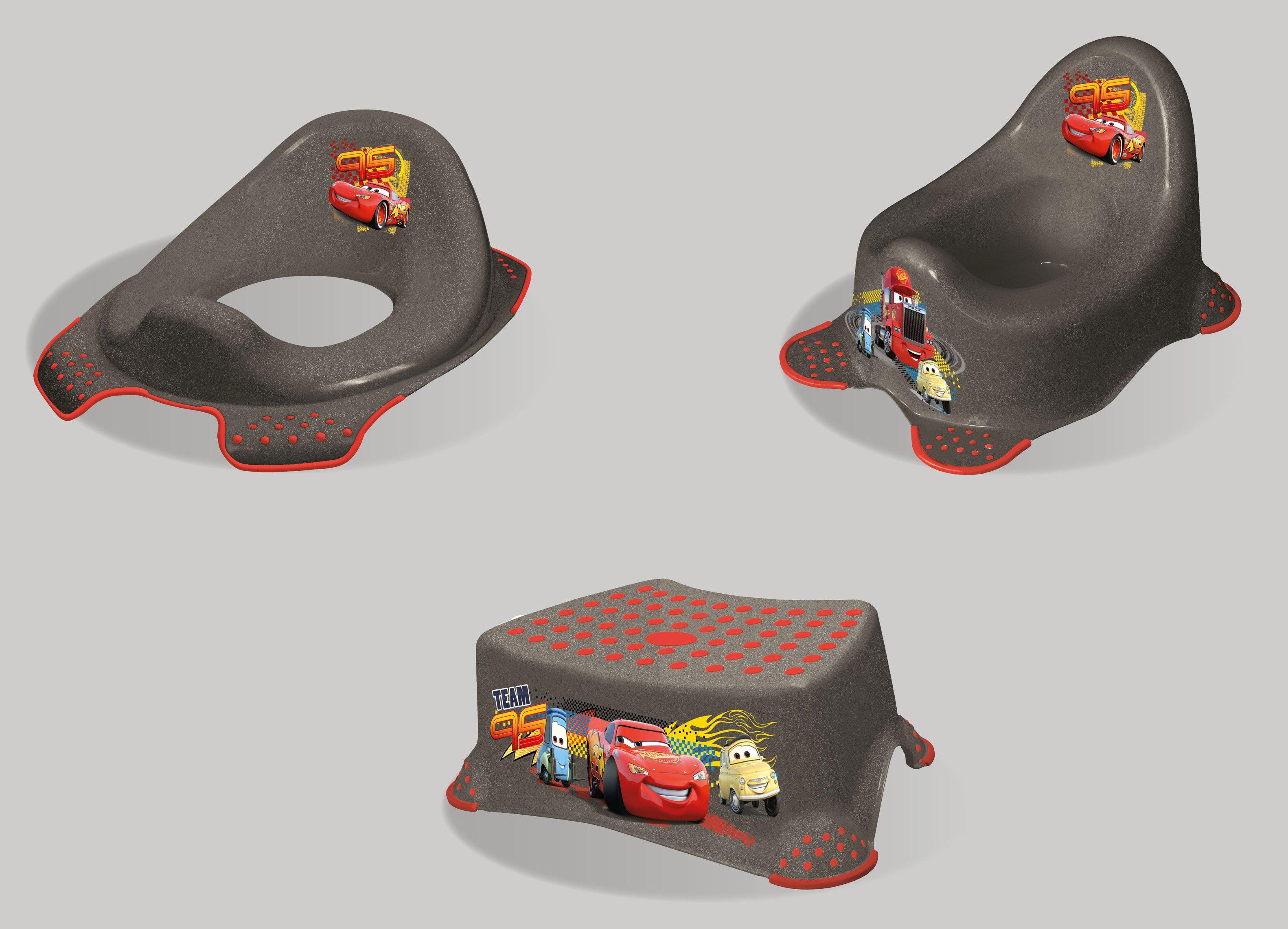 Hygienický set noèník + stolièka + adaptér na WC Cars