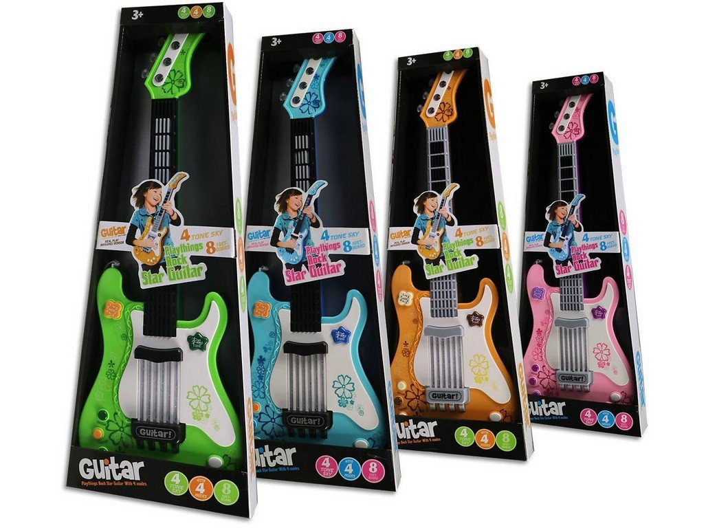 Kytara na baterie 56cm