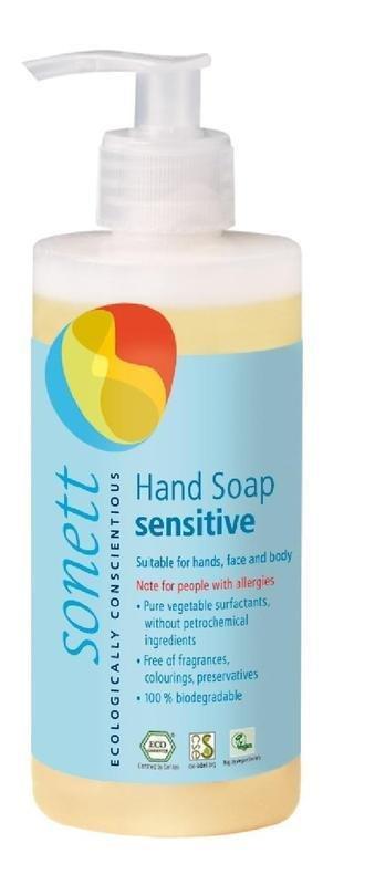 Tekuté mýdlo na ruce - sensitive 300 ml