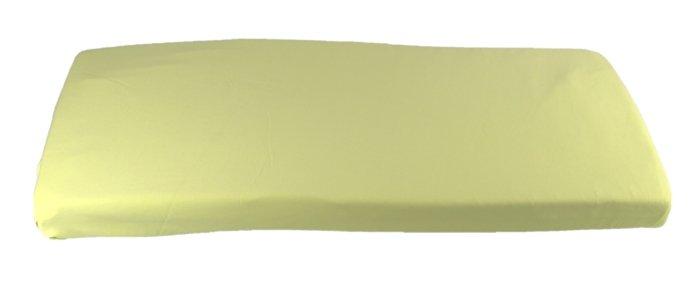 Zelené prostìradlo do kolébky z biobavlny