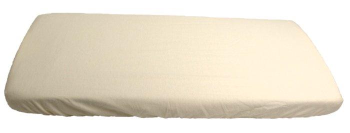 Flanelové prostìradlo bílé 60 x 120 cm