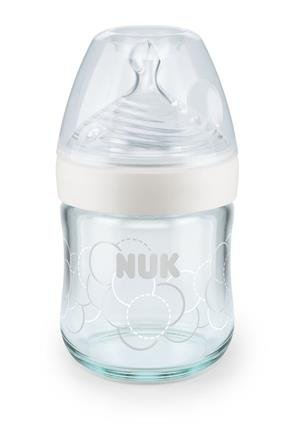 Kojenecká láhev Nature Sense sklenìná 120 ml silikon 0-6 S