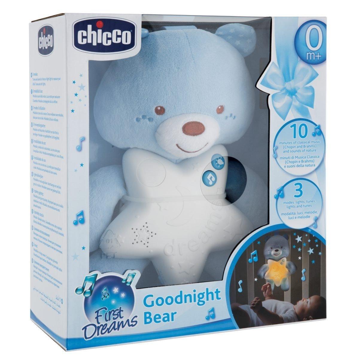 Medvídek na dobrou noc modrý
