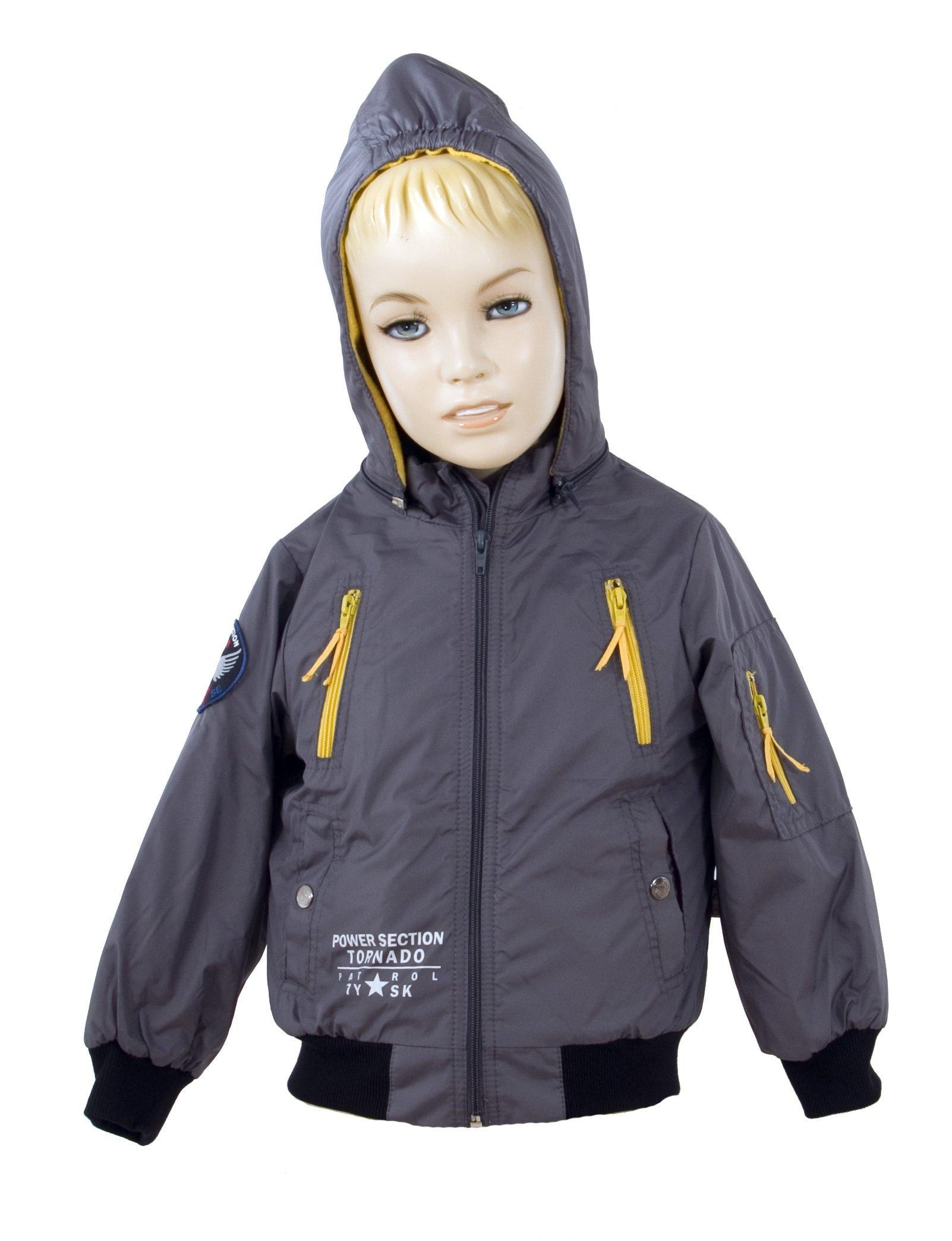Chlapecká bunda s kapucí velikost 104-110 VÝPRODEJ