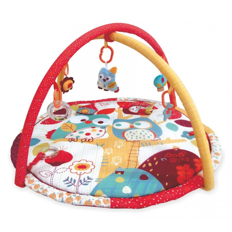 Hrací deka s hrazdou Sova 3367C