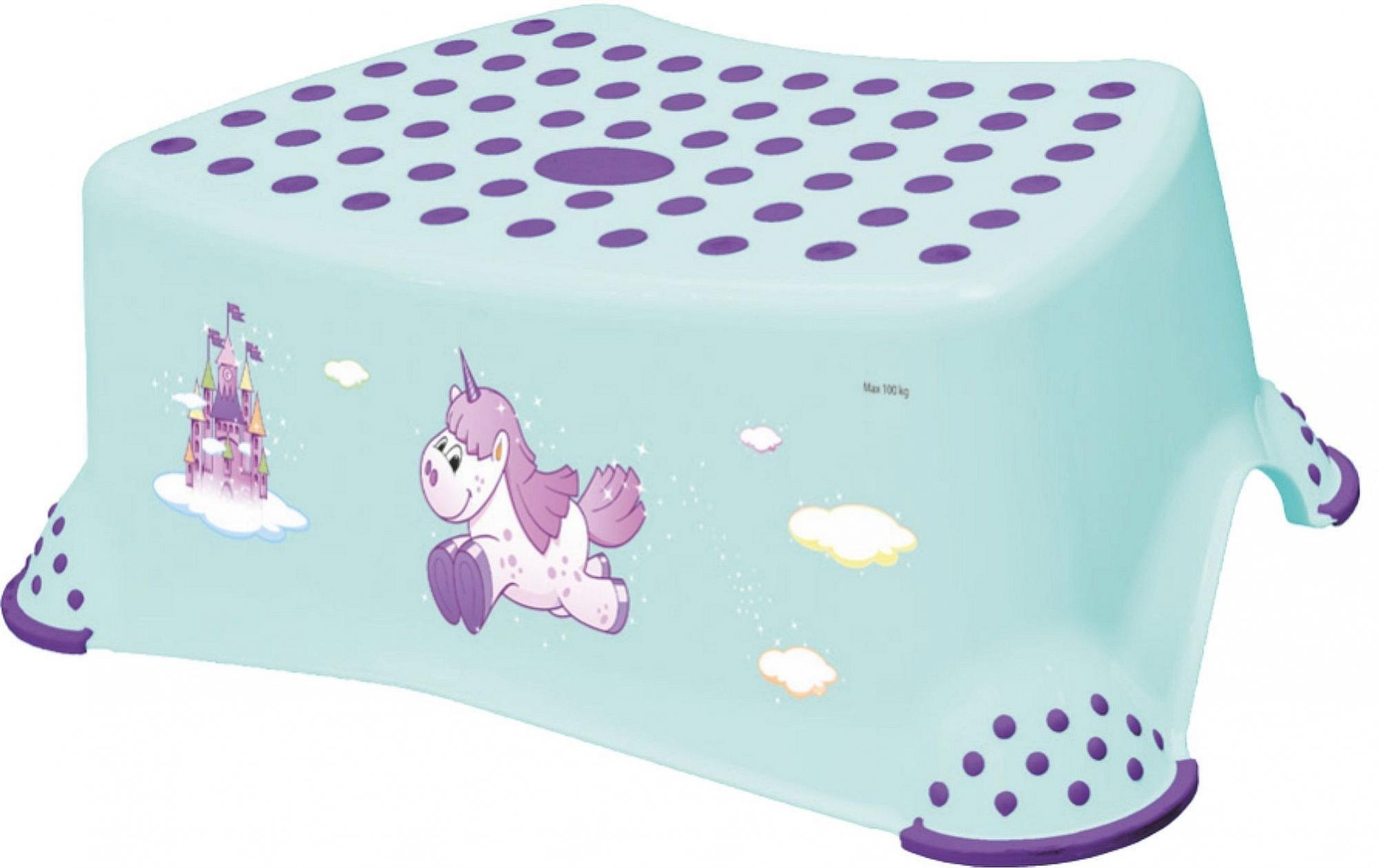 Protiskluzová stolièka UNICORN lososová