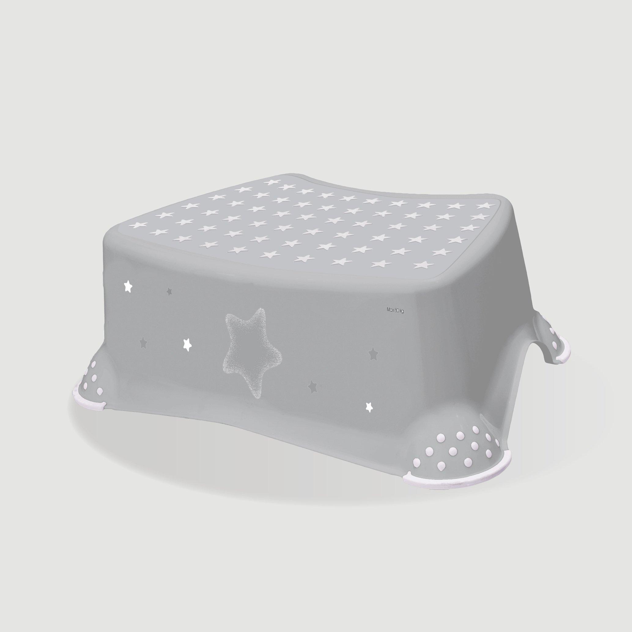 Protiskluzová stolièka stars šedá