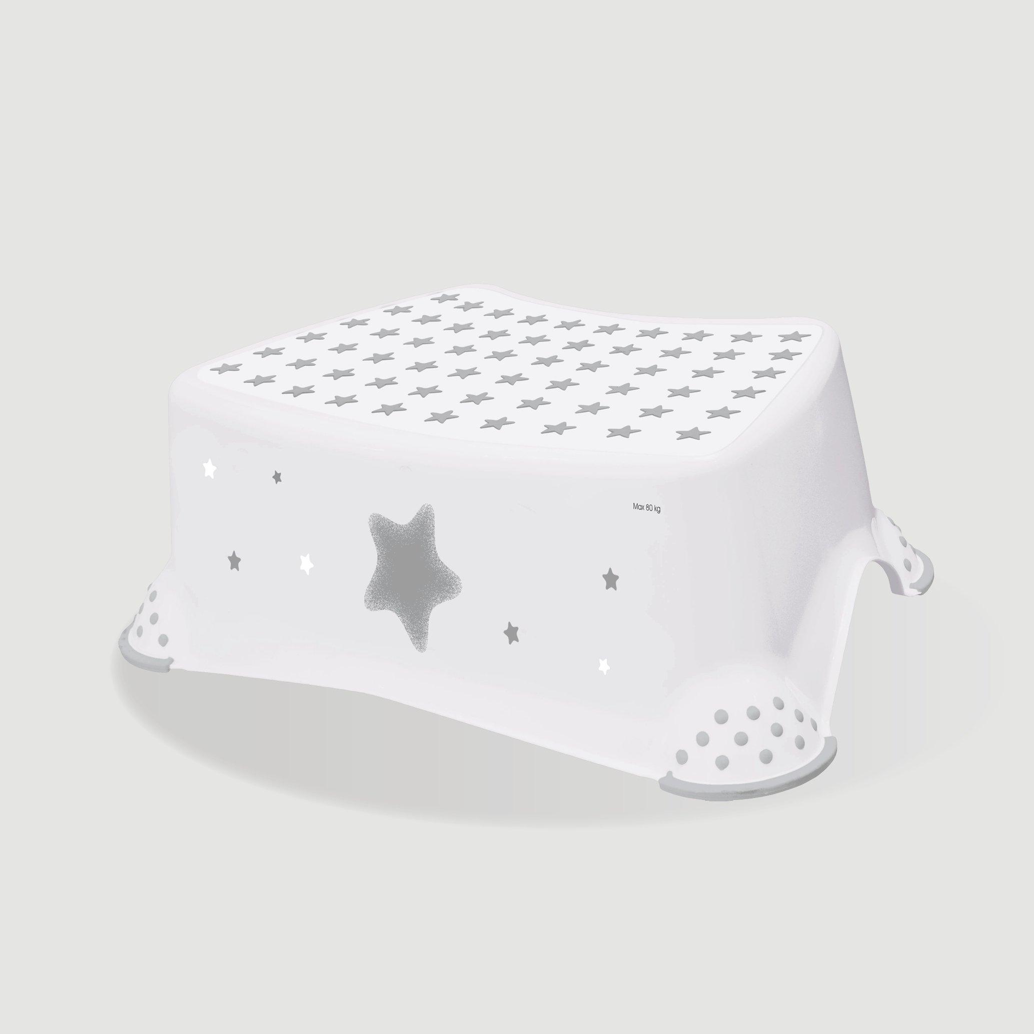 Protiskluzová stolièka stars bílá
