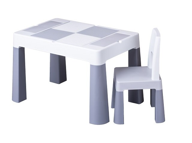 Dìtská sada stoleèek a židlièka Multifun šedá
