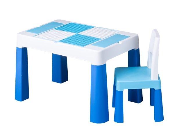 Dìtská sada stoleèek a židlièka Multifun modrá