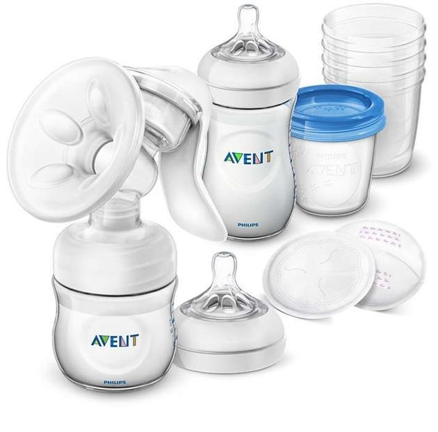 Manuální sada pro kojení a skladování mléka Natural