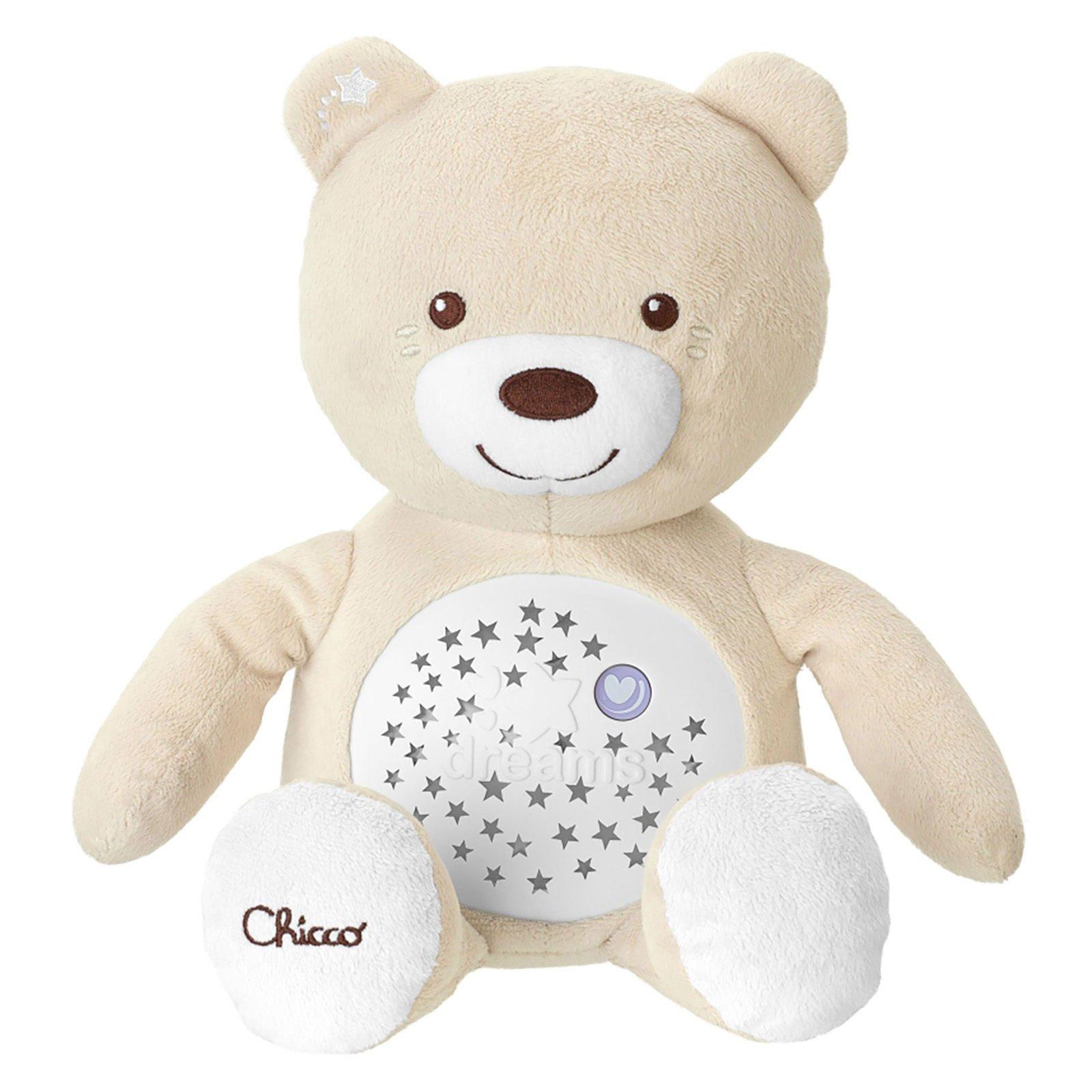 Medvídek s projektorem Special Edition béžová