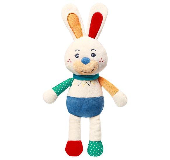 Plyšová hraèka s chrastítkem králík Jerry