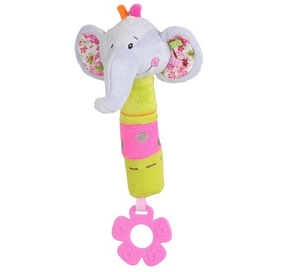 Plyšová hraèka pískací slon