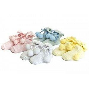 Bavlnìné ponožky na botièce bs-33