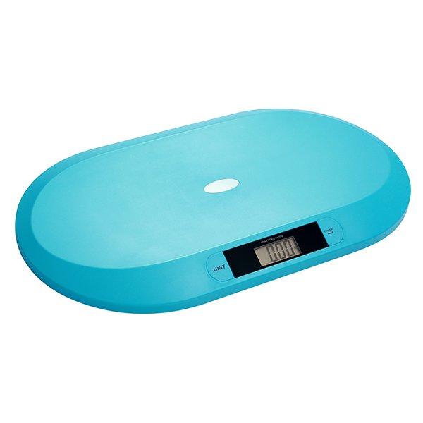 Digitální kojenecká váha do 20 kg tyrkysová