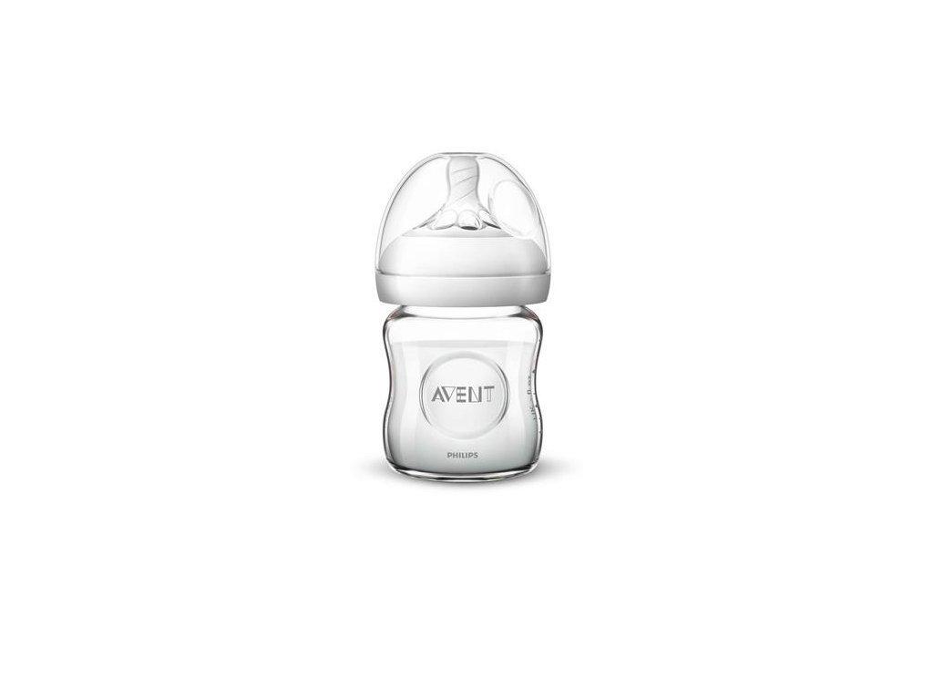 Kojenecká láhev sklenìná Natural Glass 120 ml