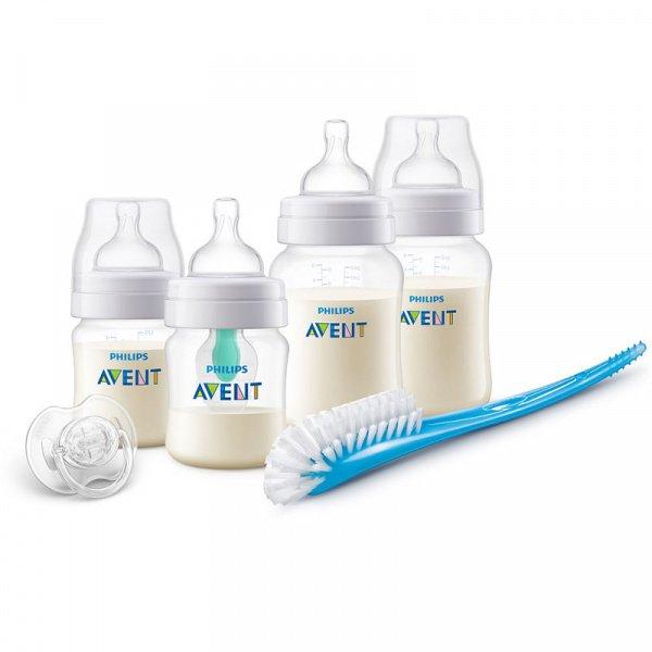 Startovací sada lahví Anti-colic s Air free ventilem