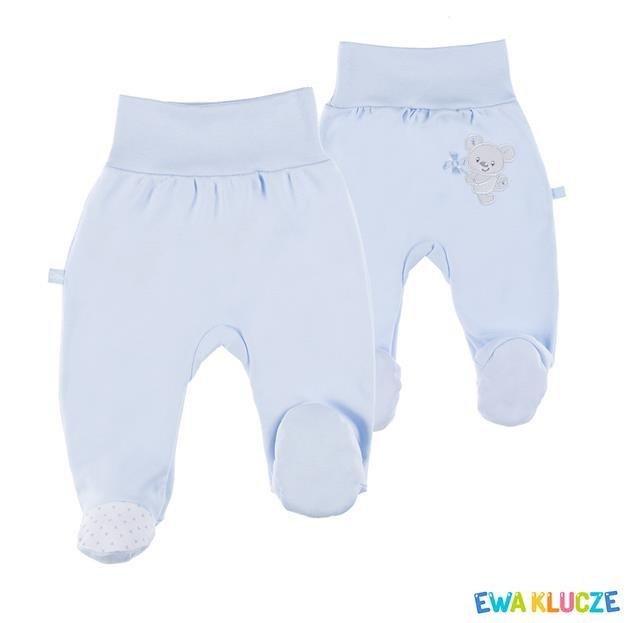 Bavlnìné polodupaèky Newborn modré vel.62