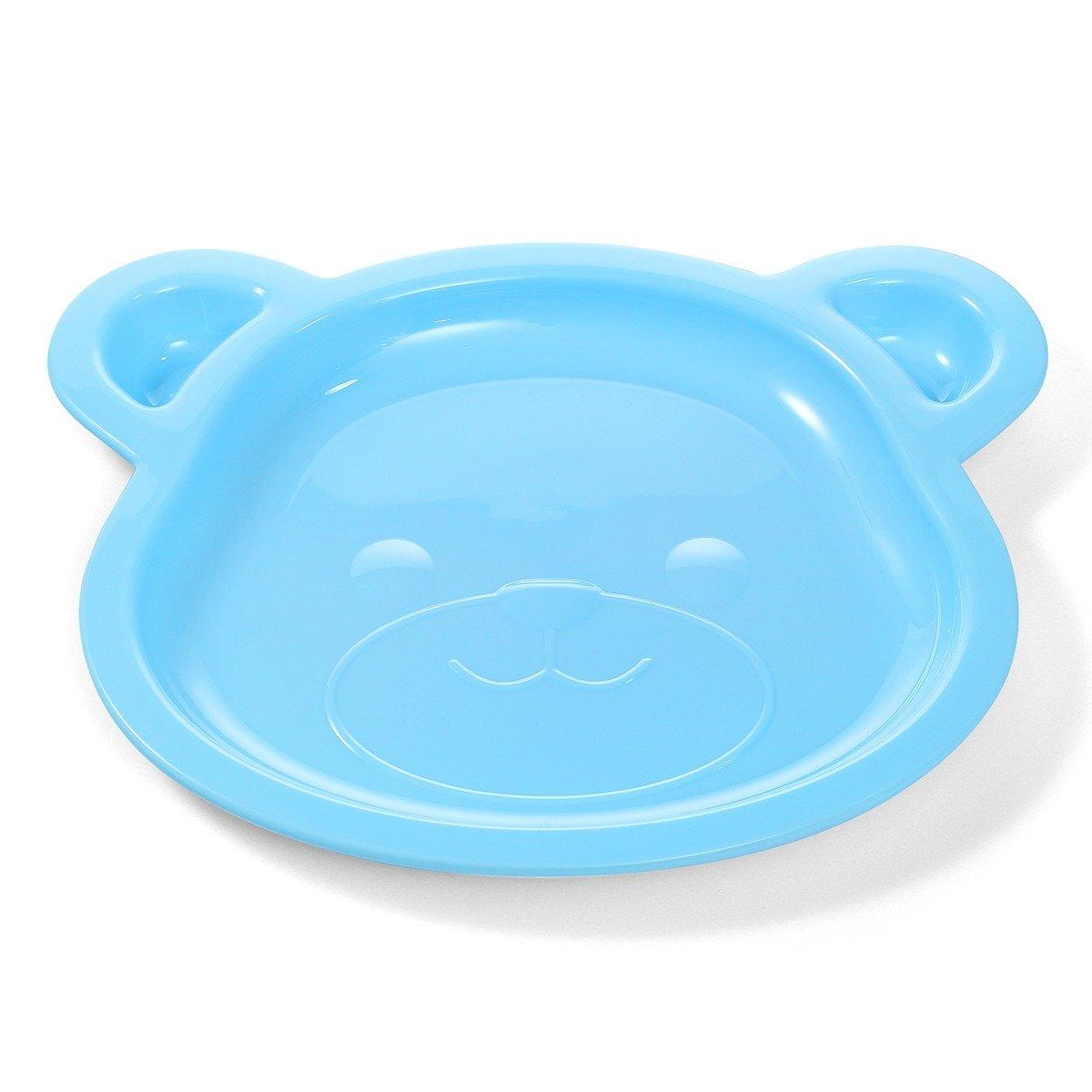 Dìtský talíø medvídek modrá