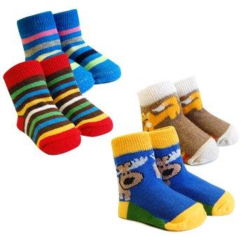 Bavlnìné ponožky na botièce 0-6m BS-18
