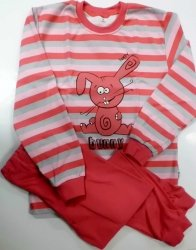 Bavlnìné pyžamo 122-140 - VÝPRODEJ