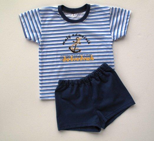 Chlapecké pyžamo letní 122-140 - VÝPRODEJ