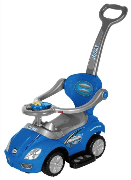 Odrážedlo jezdítko UR-Z382 2v1 modrá