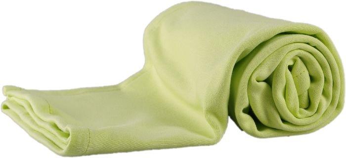 Letní deka z biobavlny 70x100 cm zelená