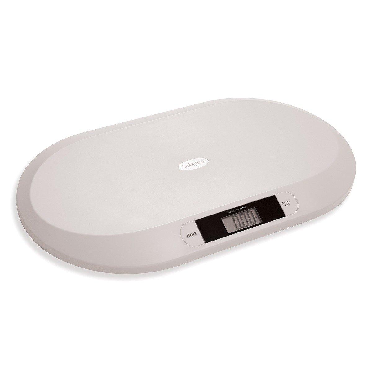 Digitální kojenecká váha do 20 kg šedá