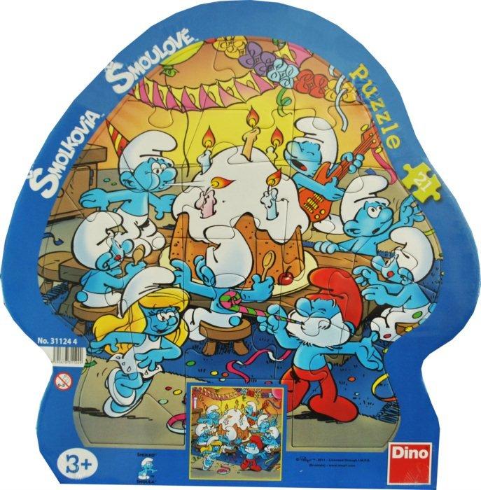 Baby puzzle Šmoulové