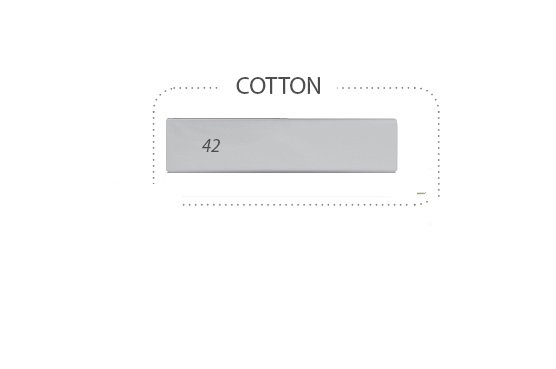 Prostìradlo nepromokavé bavlna 120x60 cm šedá-popel